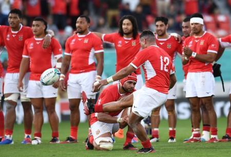 Rugby World Cup 2019 - Pool C - United States v Tonga