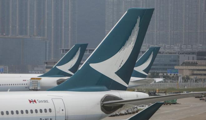 Cathay Pacific has cracked down on staff after the warning from the aviation regulator. Photo: Winson Wong
