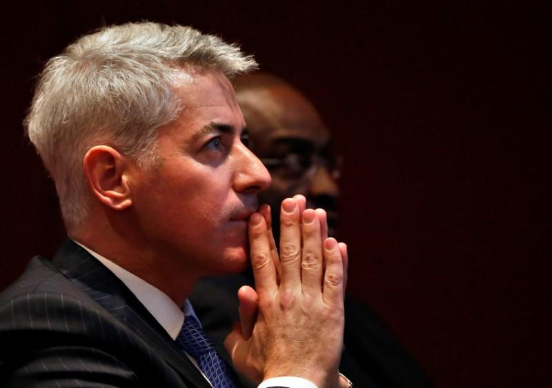 Ackman's hedge funds make money this year as hedges help