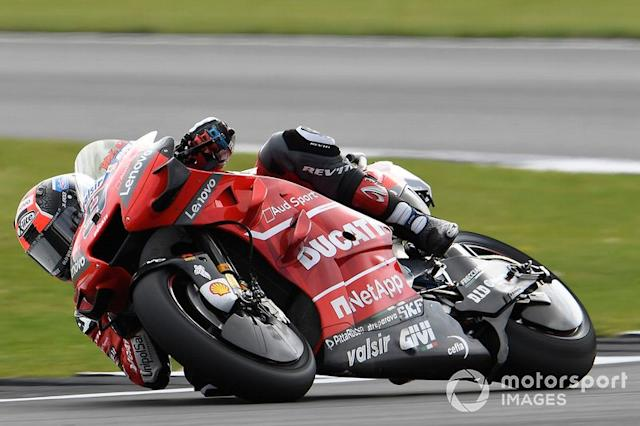 "Danilo Petrucci, Ducati Team <span class=""copyright"">Gold and Goose / LAT Images</span>"