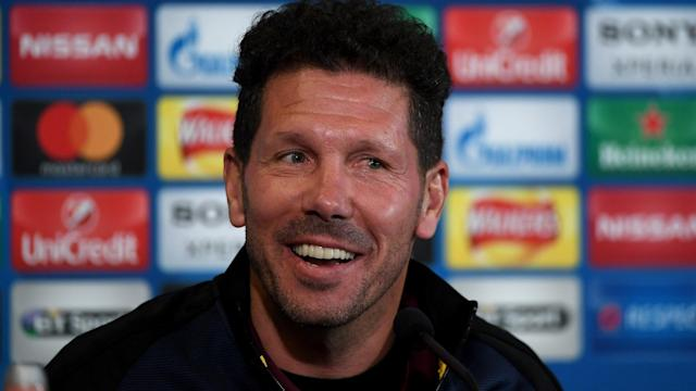 Leicester City are a bit like Atletico Madrid, according to the coach of the LaLiga giants Diego Simeone.