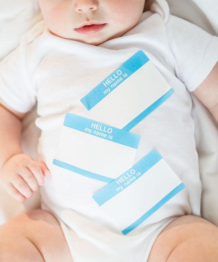 The most popular baby names list has been released [Photo: Getty]
