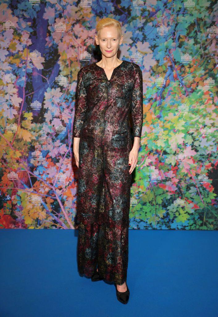 <p>Swinton wore Chanel to the 'The Souvenir Part 2' screening.</p>