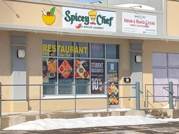 Spicey Chef Restaurant remains open for takeout business. (Brian Higgins/CBC - image credit)