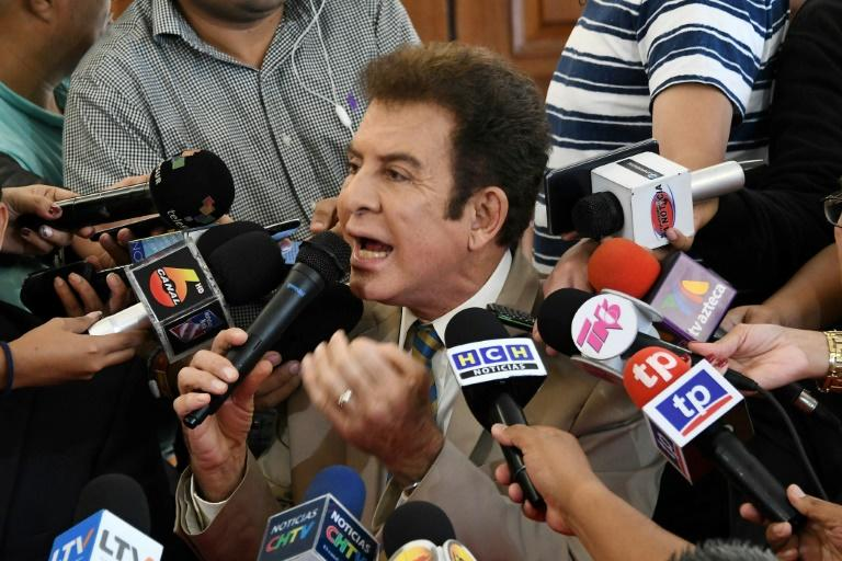 Opposition candidate Salvador Nasralla had bitterly disputed the results of last month's election