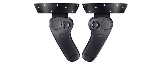 Every Windows Mixed Reality headset comes with a pair of motion controllers.