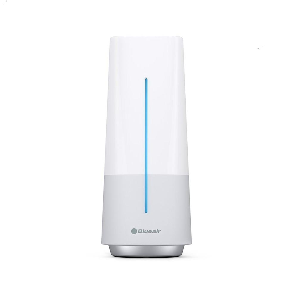 "<p><strong>This high-tech indoor air quality monitor. <a rel=""nofollow"" href=""https://www.amazon.com/Blueair-AwareTM-Indoor-Quality-Monitor/dp/B01941KUZA?mbid=synd_yahoolife"">$198</a></strong></p> <p>Sync it with a smartphone, and it'll monitor for things like dust, mold, smoke, and pollen.</p>"