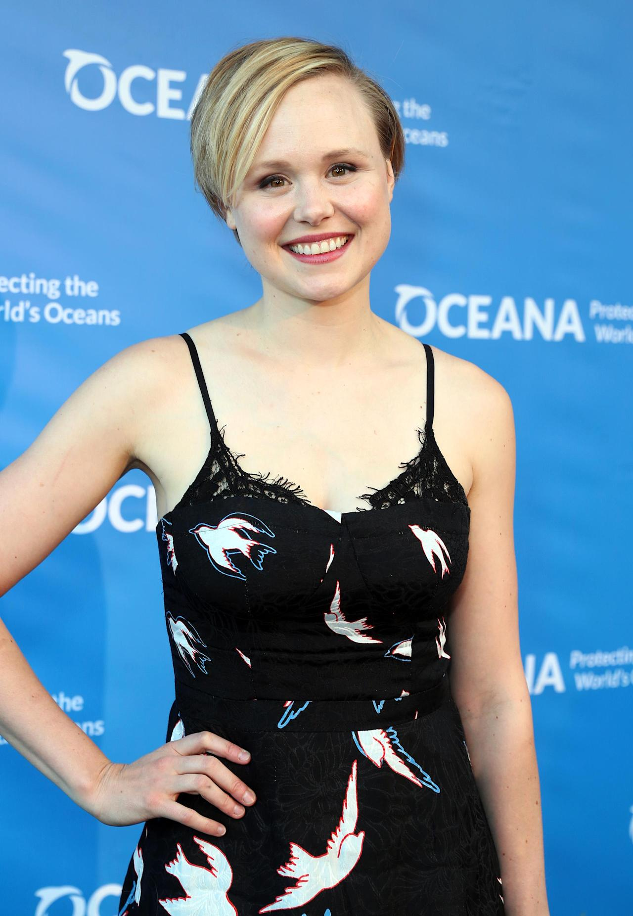 Alison Pill Hot alison pill completes broadway-bound 'three tall women' cast