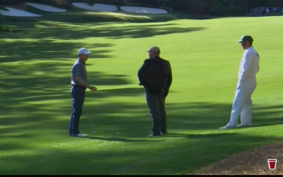 Spieth rules hit question - Credit: Sky Sports