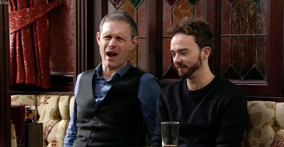 Many viewers argued the brothers new storyline is sexist. (ITV Pictures)