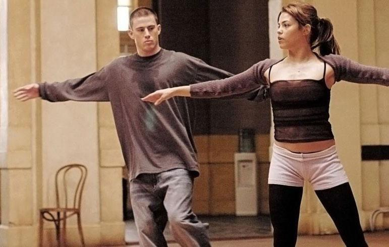 The pair starred in the hit movie Step Up together. Source: Touchstone Pictures