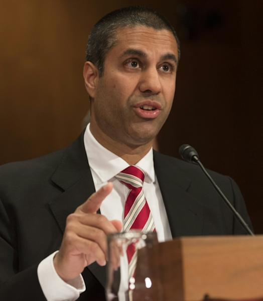 """Chairman Ajit Pai of the Federal Communications Commission claims his plan to roll back """"net neutrality"""" rules would encourage investment and innovation"""