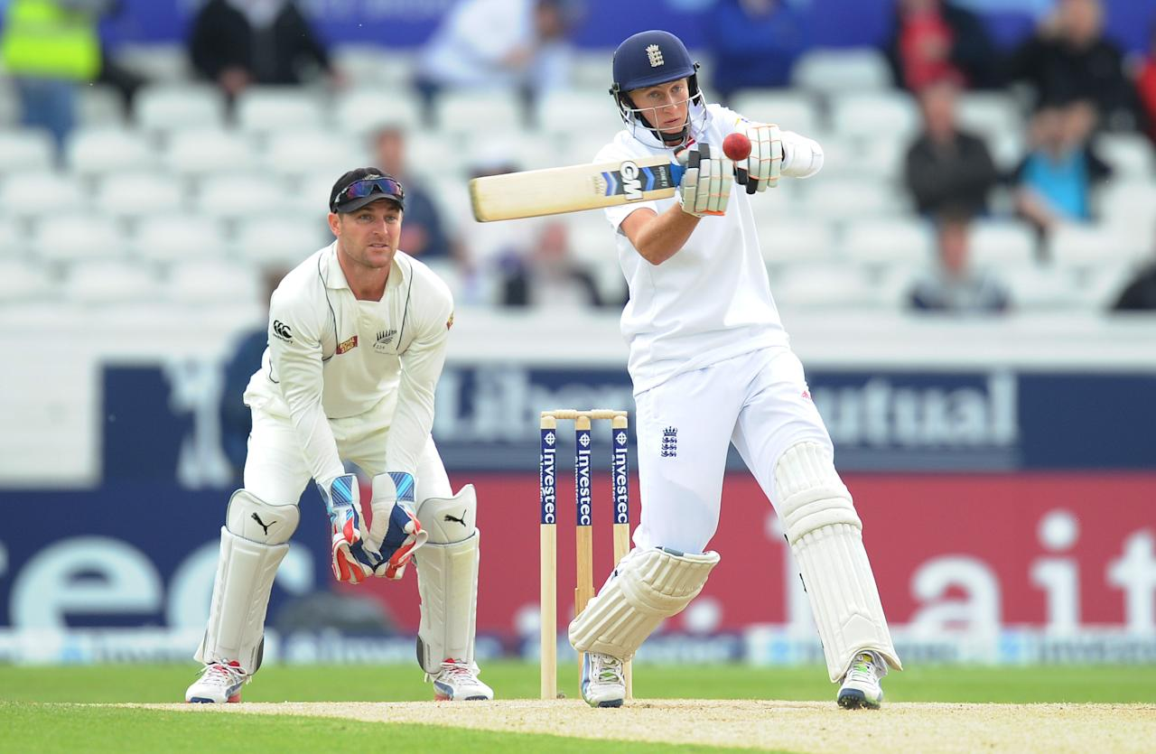 England's Joe Root during the Second Investec Test match at Headingley, Leeds.