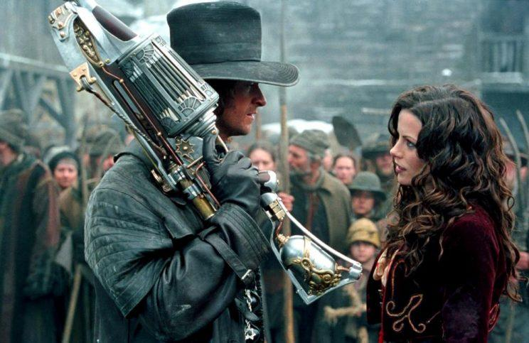 Hugh Jackman and Kate Beckinsale in 2004's 'Van Helsing' (credit: Universal)
