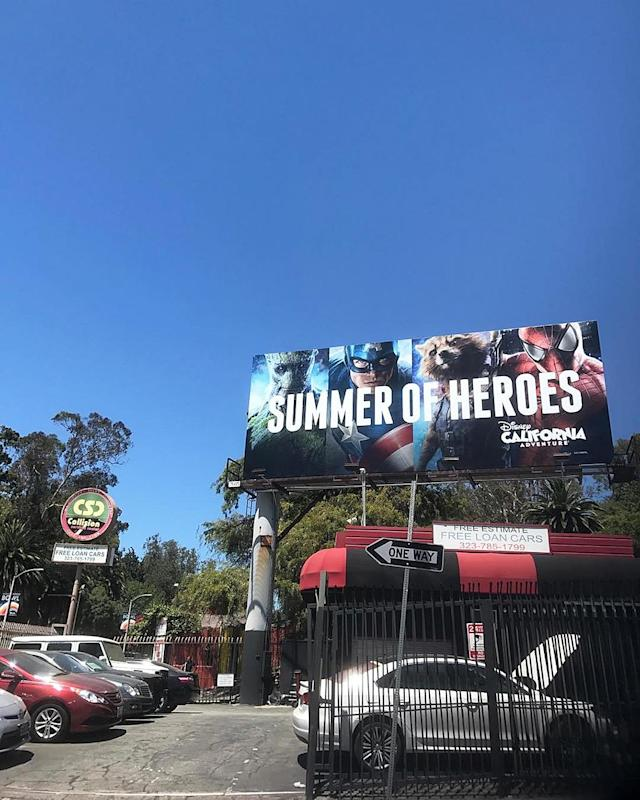 <p>Summer of villains** #Descendants2 #HarryHook — @thomasadoherty<br><br>(Photo: Thomas Doherty via Instagram) </p>