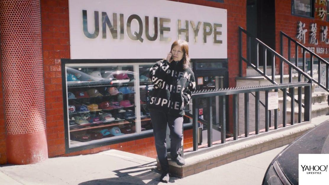 OG Ma at her store, Unique Hype. (Photo: Yahoo Lifestyle)