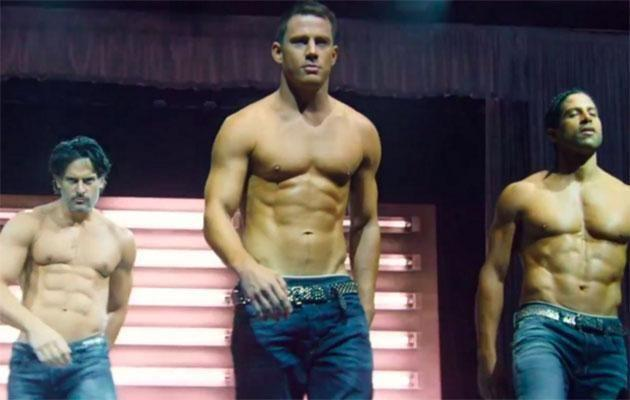 Channing hits the stage onscreen in Magic Mike. Source: Warner Bros