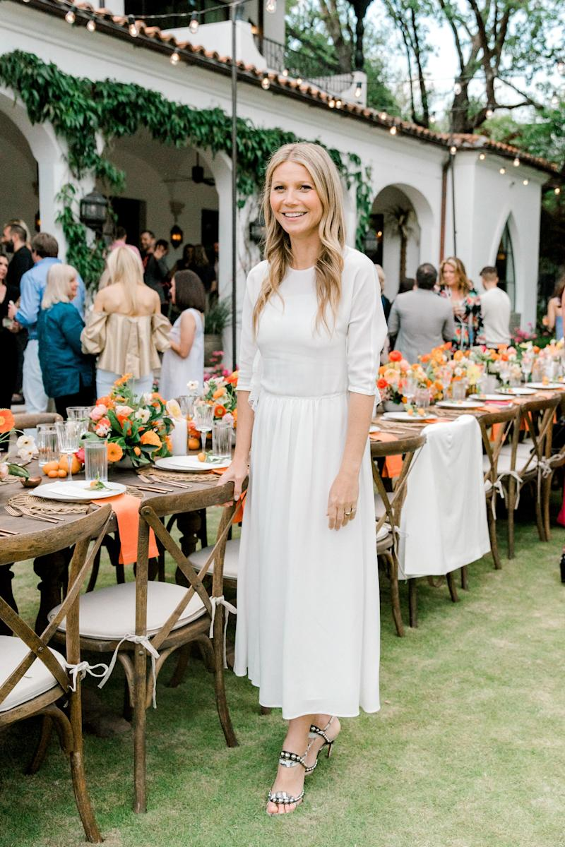 Gwyneth Paltrow attends the launch of goop Dallas with a toast to the 70th Anniversary of The Original Margarita with Cointreau.