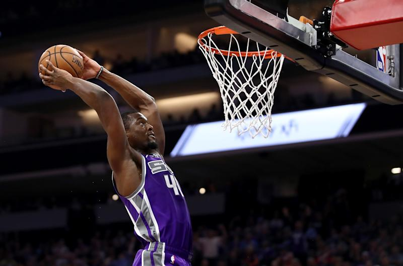Harrison Barnes #40 of the Sacramento Kings