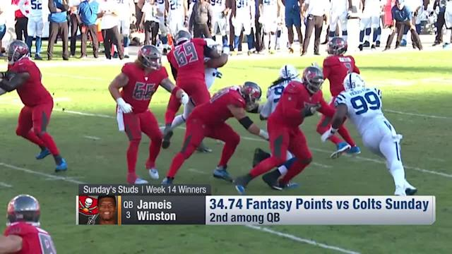 """The """"NFL Fantasy Live"""" discuss who the fantasy winners of Week 14 are."""