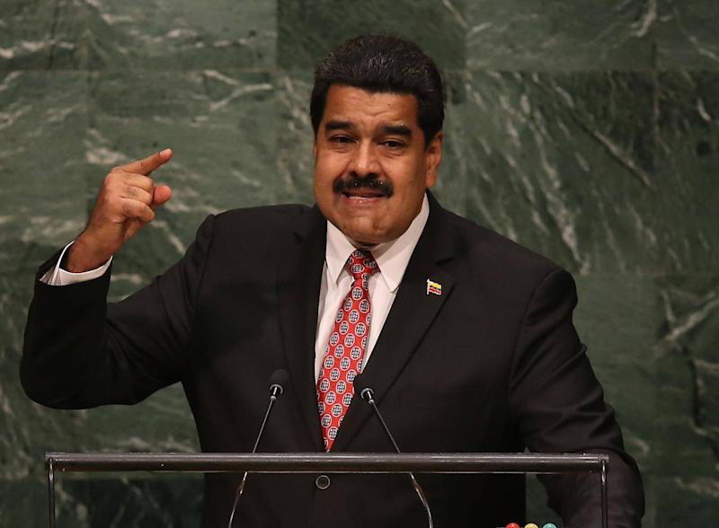 The sanctions come following a crackdown on opponents by President Maduro: Getty