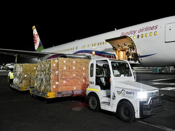 An aircraft carrying a consignment of medical equipment from Kazakhstan arrived in New Delhi on Saturday as part of COVID-19 assistance to India.