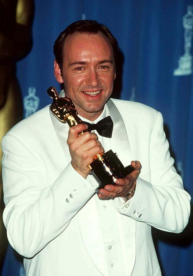 Spacey would go on to win his first Oscar for Best Supporting Actor at the 1996 awards. Source: Getty