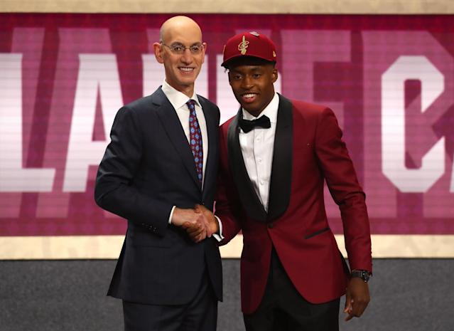 Collin Sexton was one of the NBA draft's top point guards. (Getty Images)