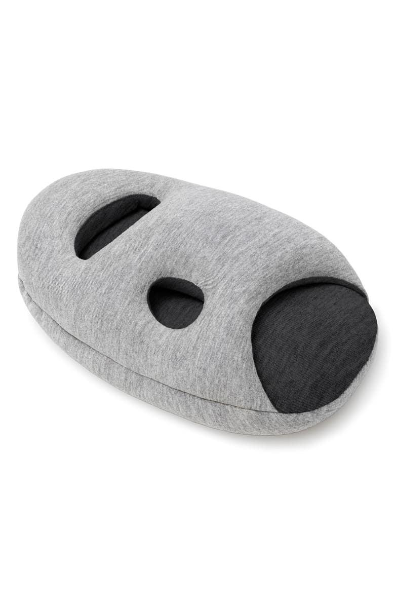 <p>This <span>Ostrichpillow Mini Pillow</span> ($35) is great for traveling.</p>