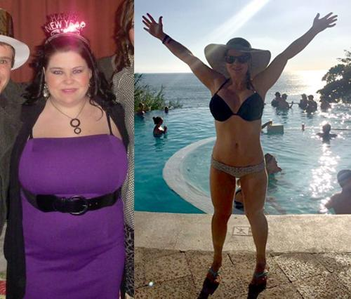 Folland O'Connor initially lost weight with the hCG diet.