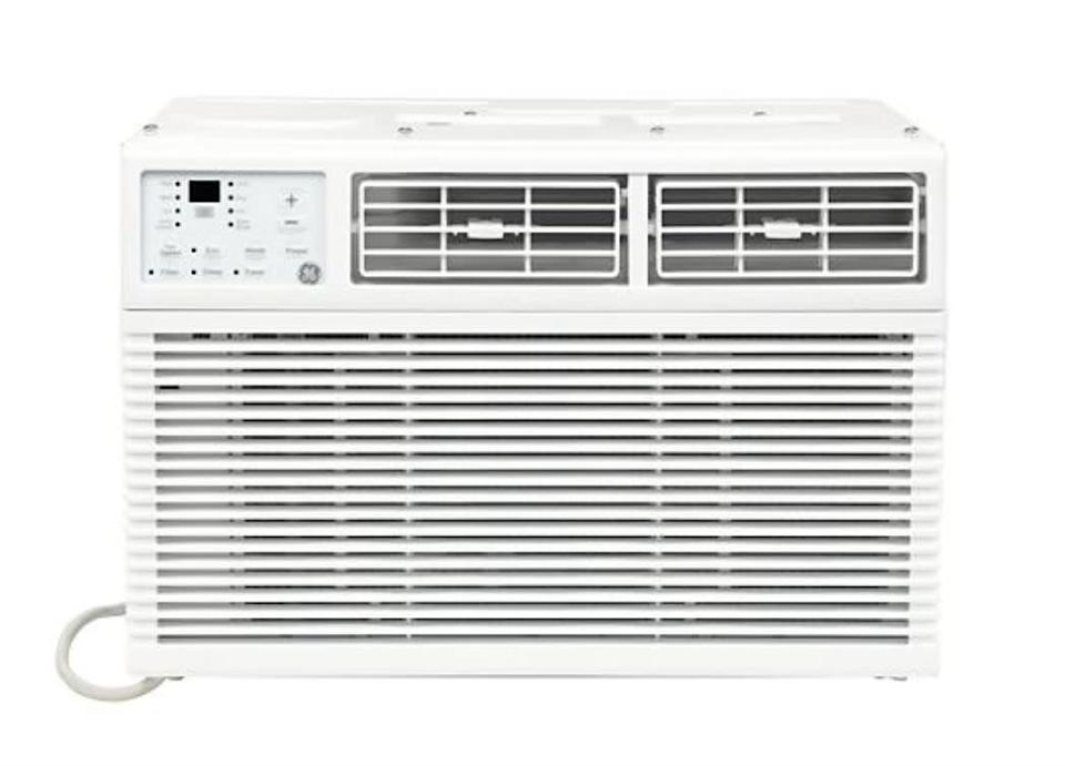 "This air conditioner has an energy saver mode and three speed settings. It has a 4.5-star rating across 170 reviews. <a href=""https://fave.co/3fmTb7L"" rel=""nofollow noopener"" target=""_blank"" data-ylk=""slk:Find it for $180 at Sam's Club"" class=""link rapid-noclick-resp"">Find it for $180 at Sam's Club</a>."