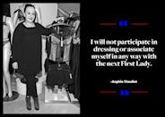 """<p>Sophie Theallet is largely responsible for starting the conversation surrounding whether or not fashion designers should dress Melania Trump when she shared an <a href=""""https://twitter.com/sophietheallet/status/799378444249399300"""" rel=""""nofollow noopener"""" target=""""_blank"""" data-ylk=""""slk:open letter on Twitter"""" class=""""link rapid-noclick-resp"""">open letter on Twitter</a>. """"As one who celebrates and strives for diversity, individual freedom, and respect for all lifestyles. I will not participate in dressing or associate myself in any way with the next First Lady,"""" Theallet wrote. """"The rhetoric of racism, sexism, and xenophobia unleashed by her husband's presidential campaign are incompatible with the shared values we live by."""" </p>"""