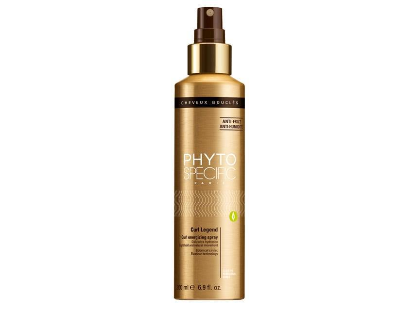 In the same way that a face mist can instantly wake you up, Phyto Specific's Curl Legend Energizing Spray does just that for your hair. The curl reviver is made with quinoa milk to help absorb water and maintain the moisture level in your hair; plant cellulose to give you full-bodied curls and protect from humidity; and mallow extract, which acts as a humectant to add hydration and softness.