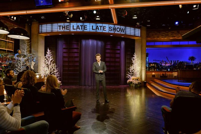 Harry Styles the Late Late Show James Corden