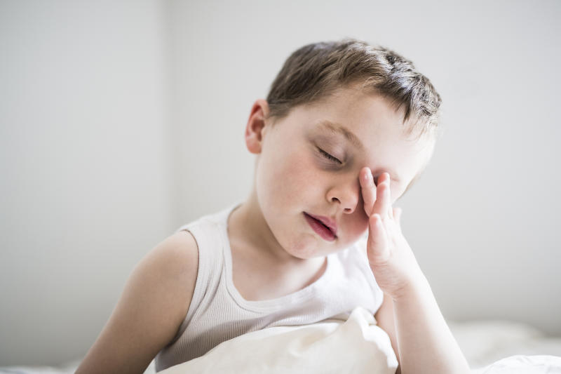 Children's sleep schedules are being impacted by COVID-19. (Getty Images)
