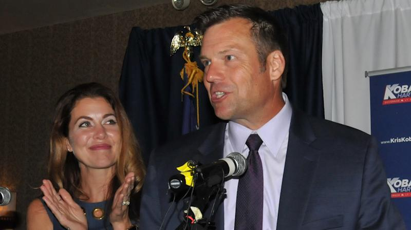 Kris Kobach Says He'll Remove Himself From Overseeing Kansas Primary Vote Count