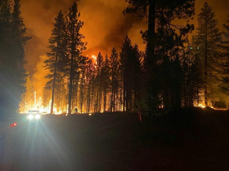 Firefighters have been dispatched from as far away as San Francisco to tackle the massive Oregon blaze