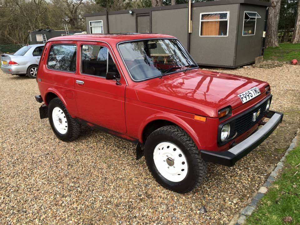 1989 Lada Niva 4x4 for sale: A pint-sized tank