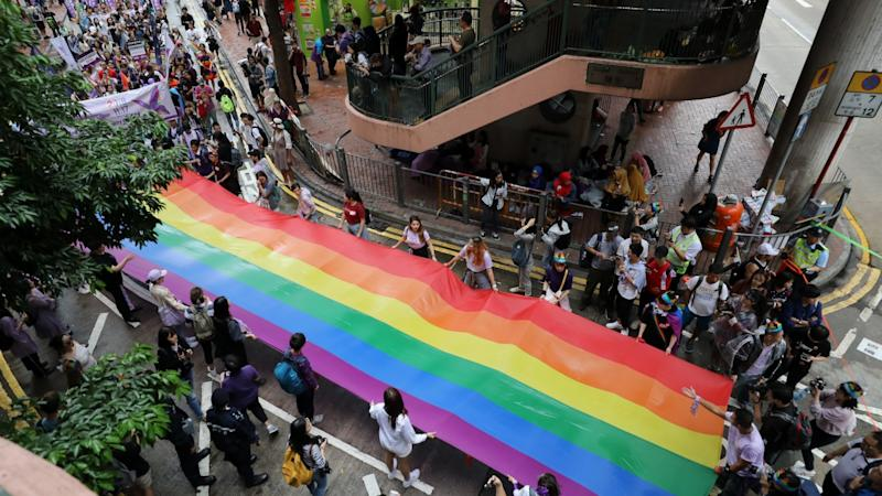 LGBT couples in Hong Kong are treated differently by the law in nearly 100 ways, report finds