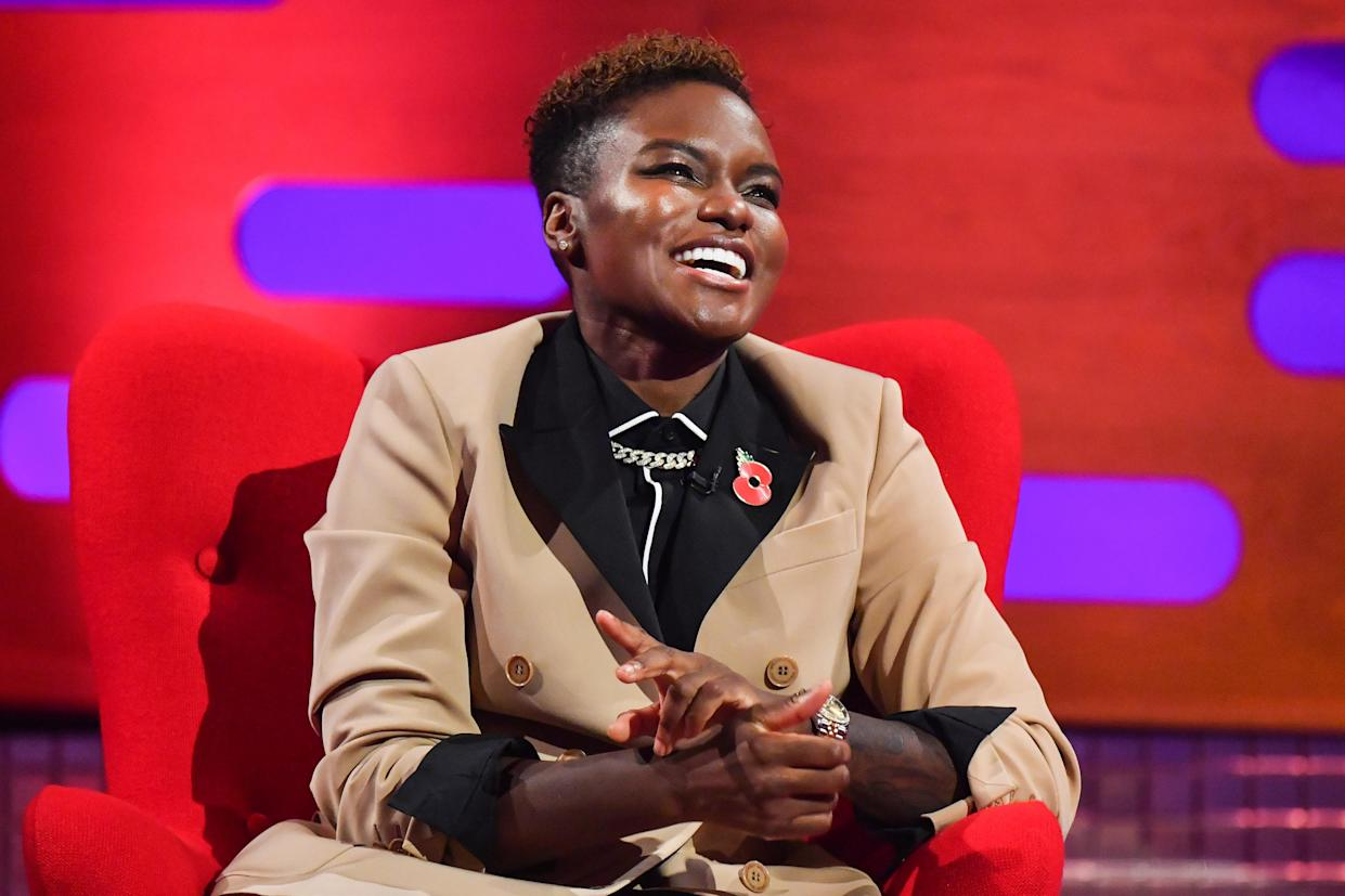 Nicola Adams during the filming for the Graham Norton Show at BBC Studioworks 6 Television Centre, Wood Lane, London, to be aired on BBC One on Friday evening. Picture date: Thursday November 5, 2020. Photo credit should read: PA Media on behalf of So TV