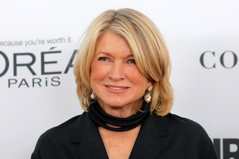Martha Stewart attends the 2017 Glamour Women of the Year Awards at the Kings Theater in Brooklyn, New York, U.S., November 13, 2017. REUTERS/Andrew Kelly