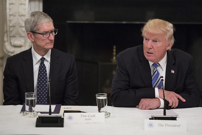 The latest round of proposed tariffs would affect the Apple Watch, AirPods and Apple Pencil, the company said in a letter to the government. (Photo credit/CNBC)