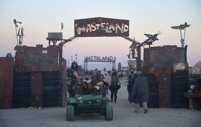 "Wastelands Weekend in the Mojave Desert is a sort of Comic-Con but for fans of ""Mad Max"" and the ""Fallout"" console games, who aren't too fussy about pristine restrooms (AFP Photo/Frederic J Brown)"