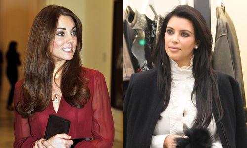 Will Kate and Kim give birth on the same day? (Credit: Getty Images)