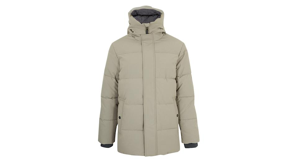 Hooded Puffer Jacket with Thermowarmth
