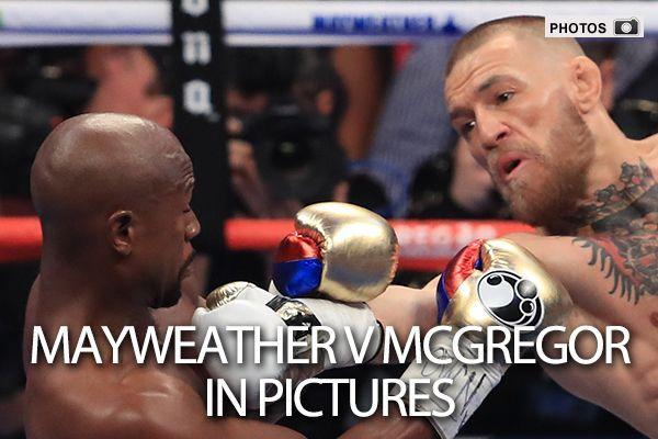 Mayweather v McGregor: In Pictures