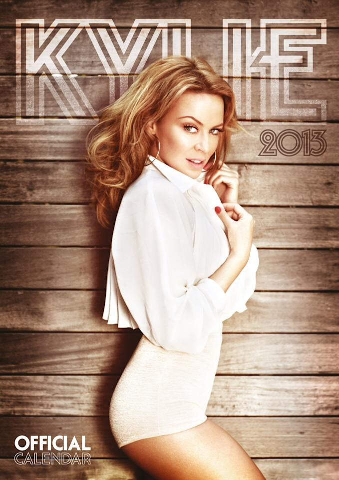 Best selling celebrity calendars for 2013: Number 9, Kylie