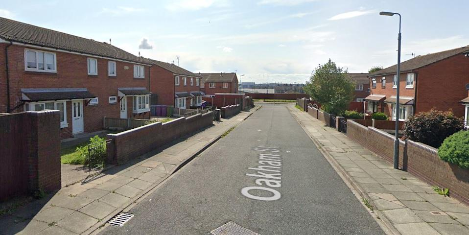 Emergency services were called to an address on Oakham Street, Toxteth (Picture: Google Maps)
