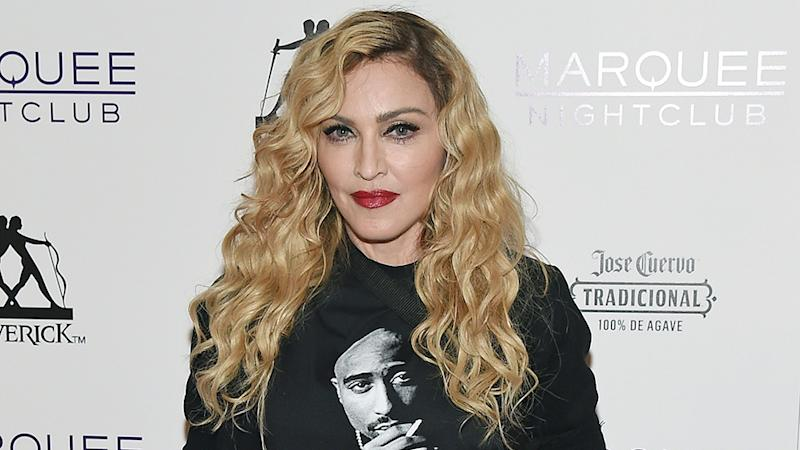 Madonna at an event in 2015