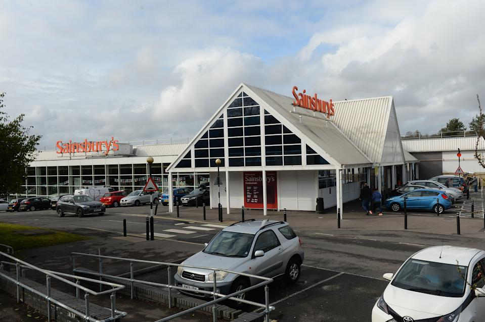 Mr Higgins is accused of manslaughter following the collision at this Sainsbury's in Pontllanfraith, South Wales in March. (Wales News)